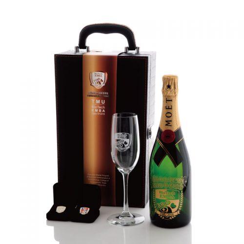 管理學院生技EMBA口試通過香檳紀念禮盒