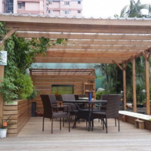 綠屋頂 可食風景 都市農場建置
