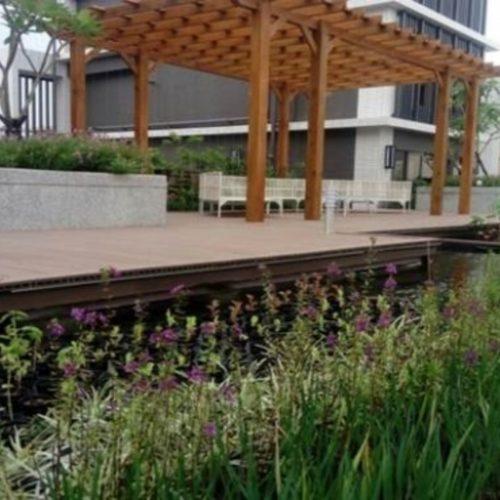建商屋頂綠化可食風景實際案例