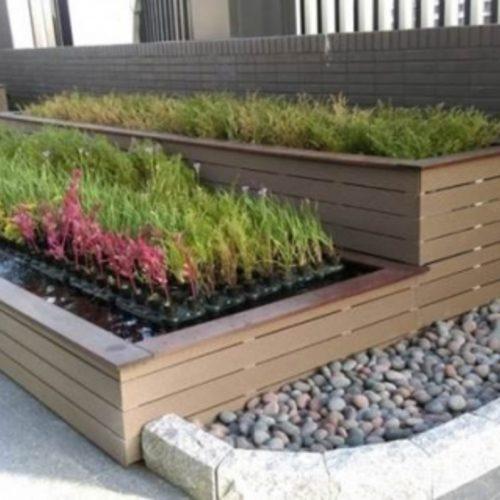 多層次循環水設計建商屋頂綠化